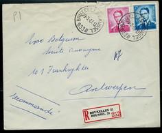 Doc. De BRUXELLES - BRUSSEL - B 33 B - Du 29/03/67   En Rec.  ( E ) - Landpost (Ruralpost)