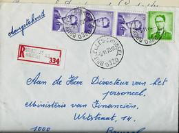 Doc. De BRUXELLES - BRUSSEL - D 32 D - Du 05/11/70   En Rec.  ( E ) - Landpost (Ruralpost)