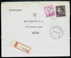Doc. De CASTEAU - A A - Du 26/05/67 En Rec. ( E ) - Landpost (Ruralpost)