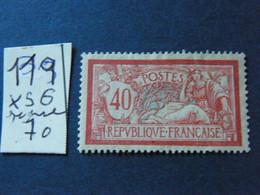 Mouchon  No 119  Neuf * Signe - 1900-02 Mouchon