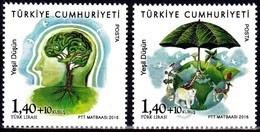 Europa Cept - 2016 - Turkey, Turkei - (Think Green) ** MNH - 2016