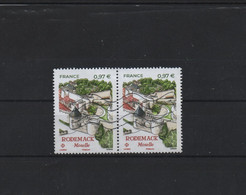 Paire Horizontale Du Timbre Rodemack Moselle  Gommés   Ob// - Used Stamps