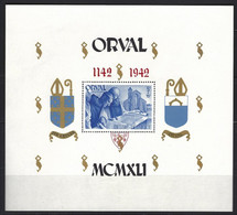 Cob BF 22 Surchage Anglaise Dentelé, Abbaye D'Orval    ** - Blokken 1924-1960