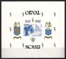 Cob BF 23 Surchage Anglaise Non Dentelé, Abbaye D'Orval    ** - Blokken 1924-1960