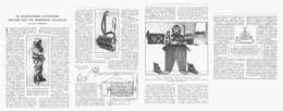 LE SCAPHANDRE AUTONOME De M.BOUTAN  1924 - Altri