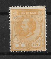 Suriname Koning Willem III NVPH 2 - Suriname ... - 1975