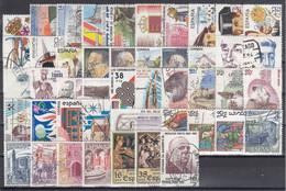 ESPAÑA 1983 Nº 2685/2731 AÑO COMPLETO USADO 47 SELLOS - 1991-00 Usati