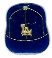 BASEBALL - B21 - CASQUETTE  LA - LOS ANGELES - Verso : SM - Baseball