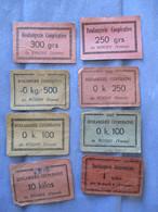 BONS DE RAVITAILLEMENT 1947 1949 - 1900 – 1949