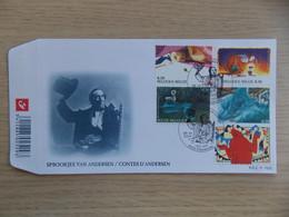 First Day Cover 2005 Sprookjes Van Andersen / Contes D'Andersen     FDC P 1528 - 2001-10