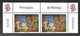 Monaco 2020 - Yv N° 3256 ** - Monaco 2020 - Noël - Ungebraucht