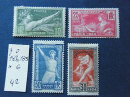 Serie J O  Neuf * - 1900-27 Merson