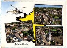 FELLERIES LIESSIES : Carte Aérienne Multivues Hélicoptère - Altri Comuni