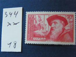 No 344  Neuf ** - 1900-27 Merson