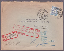 Lettre Allemagne - Tiegenhof - Recommandé - 1933 - Wertpost / Beantwortet - Covers & Documents