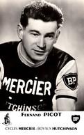Thematiques  Sport Cyclisme Fernand Picot Cycles Mercier Boyau Hutchinson BP - Cycling