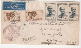 Lettre Madagascar / Tananarive Pour Lyon - Briefe U. Dokumente