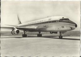 AEROPORT MARSEILLE-MARIGNANE - UNION AEROMARITIME DE TRANSPORTS - SUPER D.C. 8 - 1965 - Aeródromos