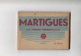 13 MARTIGUES La Venise Provencale   Mini Pochette De  10 Photos - Martigues