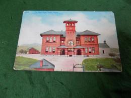 VINTAGE USA: AZ Nogales The School House Tint 1912 Sonora - Altri