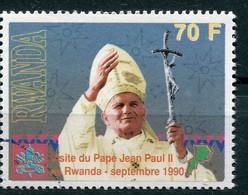 Ruanda (1990) - Visita Di Papa Giovanni Paolo II - 1990-99: Oblitérés