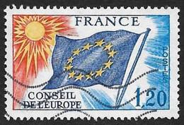 Service  48 -  Conseil De L'Europe  1f20  -  Oblitéré - Cote 4e - Oblitérés