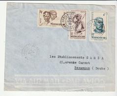 Lettre Madagascar / Ambila Lemaitso, 1951 - Brieven En Documenten