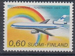 +M1107. Finland 1973. Air Service. Michel 738. MNH(**) - Ungebraucht