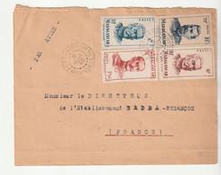 Lettre Madagascar / Fort Dauphin, 1950 - Briefe U. Dokumente