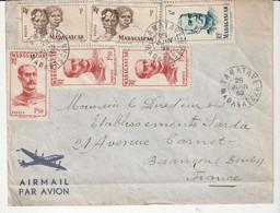 Lettre Madagascar / Tamatave, 1952 - Briefe U. Dokumente