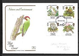 (A855) GB 1986 Cotswold FDC, FDI Bath Postmark, Pencil Address With Insert - 1981-1990 Decimal Issues