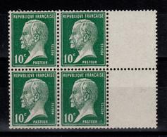YV 170 N** Pasteur En Bloc De 4 , Cote 6,80+ Euros - Unused Stamps