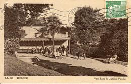 BOLBEC - Vue Dans Le Jardin Public - Bolbec