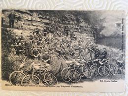 SEDAN-La Compagnie Cycliste Du Capitaine Gérard Ed.Genin - Sedan