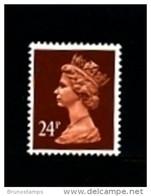 GREAT BRITAIN - 1992  MACHIN  24p. PCP  LITHO MINT NH  SG X1017 - Série 'Machin'