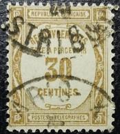 France Taxe N°46 Oblitéré. - 1859-1955 Gebraucht