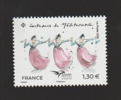 FRANCE / 2019 / Y&T N° 5339 ** : EUROMED (Costumes De Méditerranée) X 1 BdF D - Nuevos