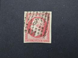 TPO0017-1 - YT 17 - 80c Carmin  - Oblitéré - 1853-1860 Napoléon III.