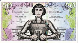 50 Francs - Royaume De France - Fiktive & Specimen