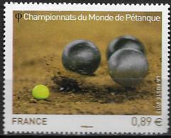 France 2012 Neuf - N° 4684  Championnat Du Monde De Pétanque - Unused Stamps