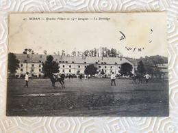 SEDAN-Quartier Fabert-14me Dragons-Le Dressage - Sedan