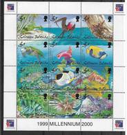 1999 SALOMON 926-37** Philexfrance, Faune Marine, Tortue, Oiseau - Isole Salomone (1978-...)