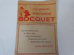 Calendrier 1951 De La Moutarde Bocquet à Yvetôt (76) - Formato Grande : 1941-60