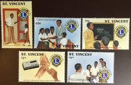 St Vincent 1990 Lions Club MNH - St.Vincent (1979-...)