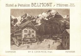 78324- Hotel Belmont Mürren Berner Oberland Kanton Bern - BE Berne