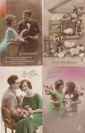 Lot De 200 Cartes Fantaisies . Bonne Année, Bonne Fête, Joyeuses Paques, Anniversaire ... - 100 - 499 Cartoline