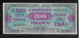France 50 Francs France - Fayette N°24-1 - TTB - 1944 Flag/France