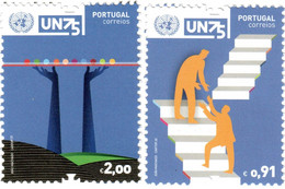 Portugal  2020  Mi.Nr. 4660 / 4661 , 75 Anos United Nations - Postfrisch / MNH / (**) - Ongebruikt