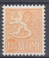 +M1126. Finland 1974. Lion Type 0.35 M. Michel 746 I. MNH(**) - Nuevos
