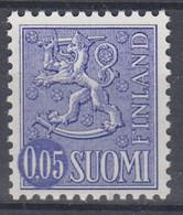 +M1127. Finland 1972. Lion Type 0.05 M. Michel 706 Y. MNH(**) - Nuevos